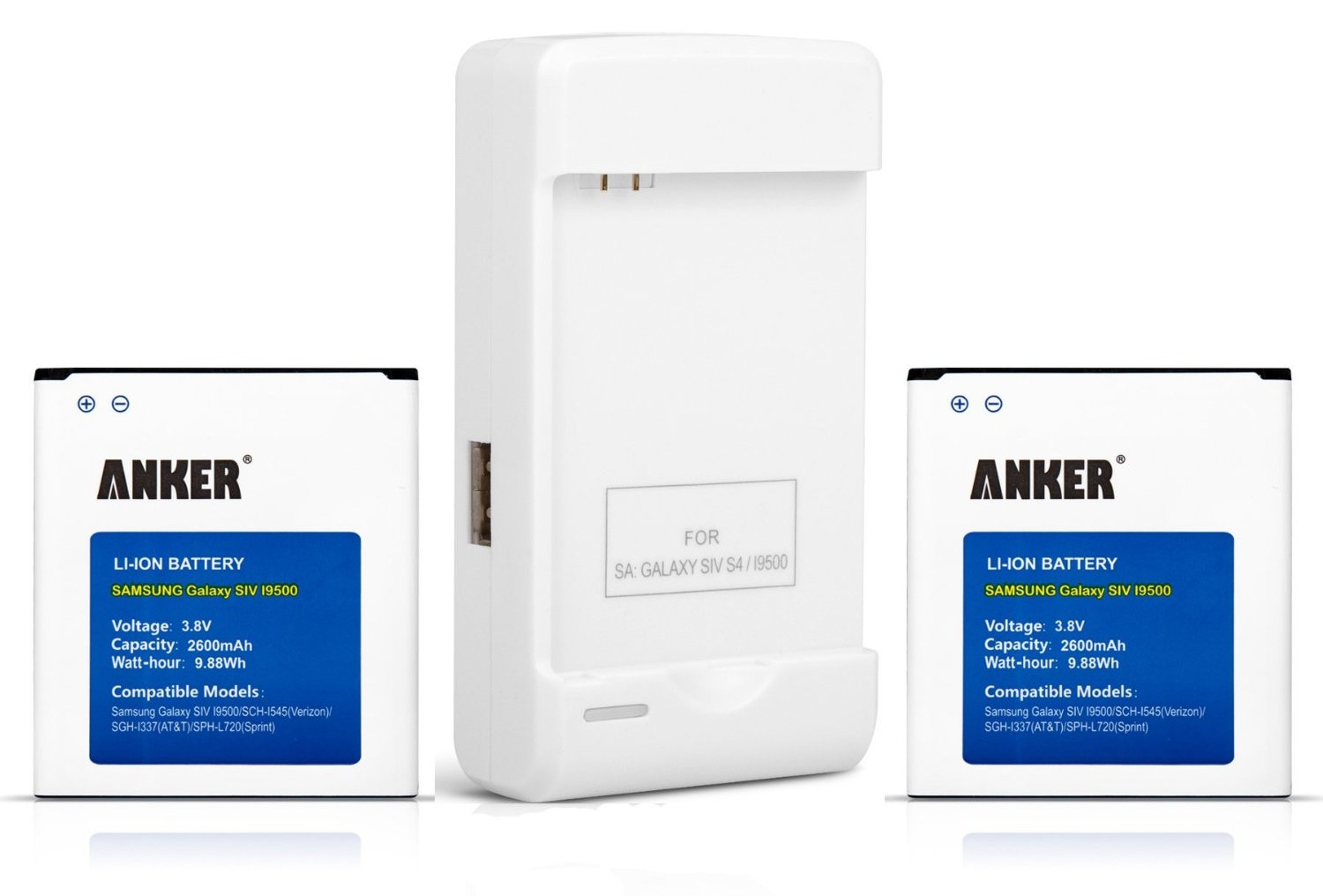 Review: Samsung External Charger and 2 replacement batteries from Anker