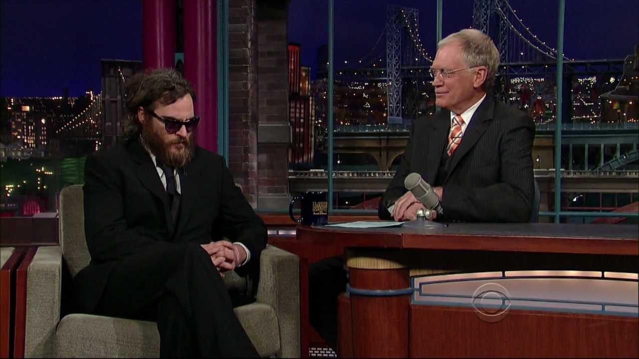 David Letterman vs. Leno, Madonna, Joaquin Phoenix