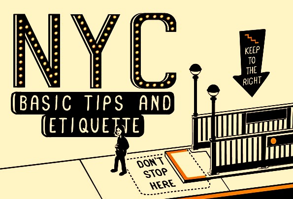 If you are visiting or live in New York City, you need to read this guide on etiquette