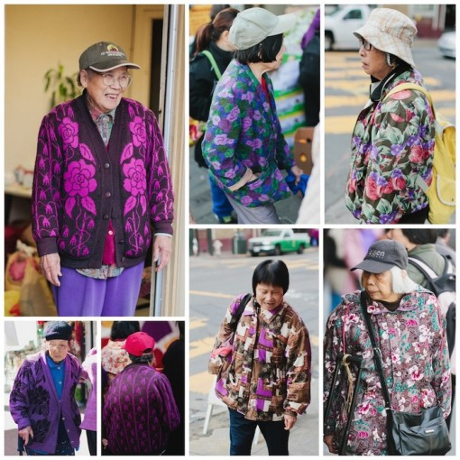 older chinese women fashion