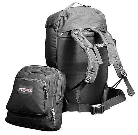 The JanSport Mozambique is the perfect travel backpack for long trips