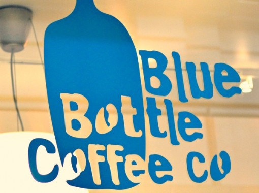 Where was the first blue bottle?