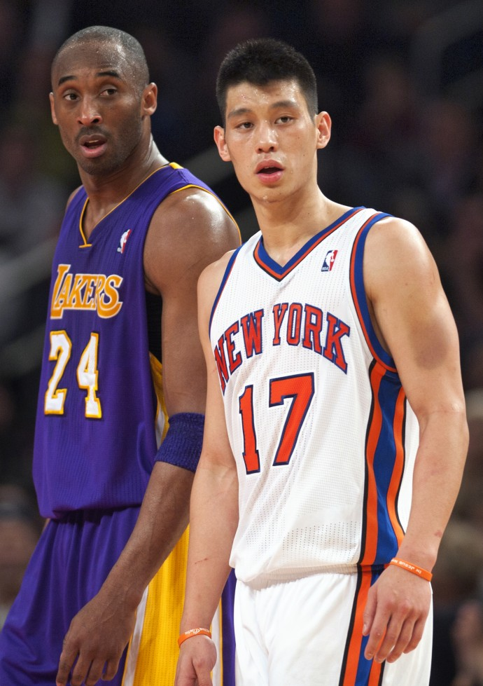 Love/Hate: Jeremy Lin will play alongside Kobe Bryant