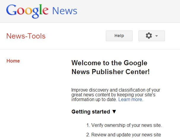 "Google launches 'Webmaster Tools for Google News"" to give publishers more control over their news site"