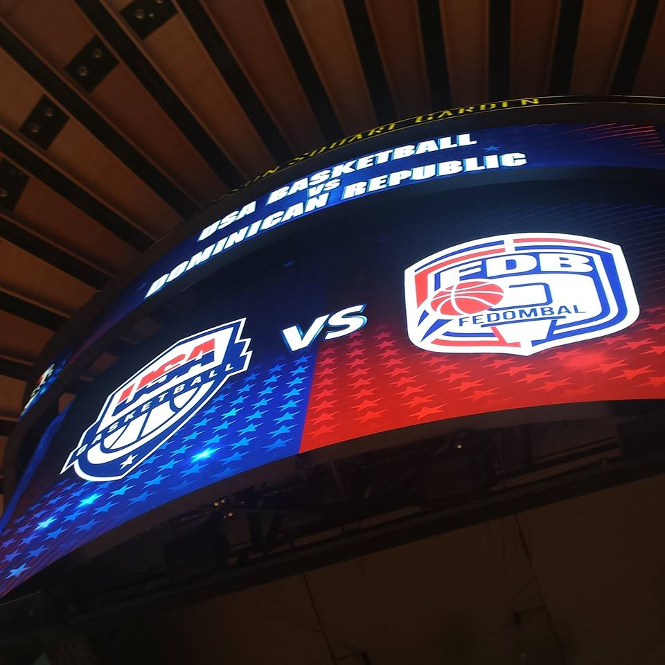 USA Basketball vs. Dominican Republic at MSG