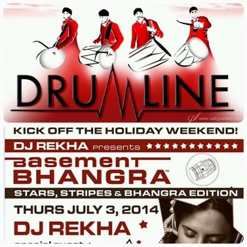 Basement Bhangra July 2014