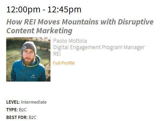 How REI Moves Mountains with Disruptive Content Marketing