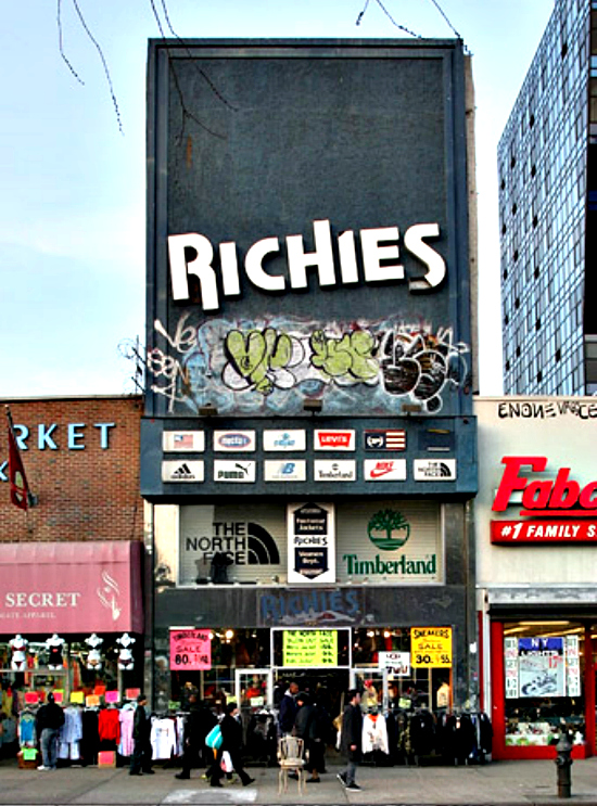 Richies Clothing in Lower East Side