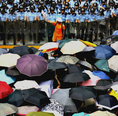 The Umbrella Revolution in Hong Kong