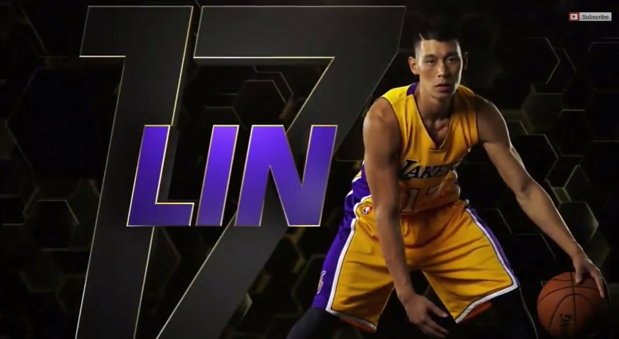I'm finally getting used to the idea of Jeremy Lin wearing a Laker's jersey