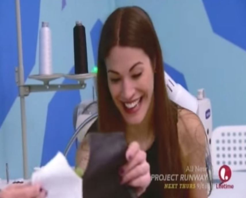 Project Runway's Korina is reality TV's queen of sore losers (and it feels so good)
