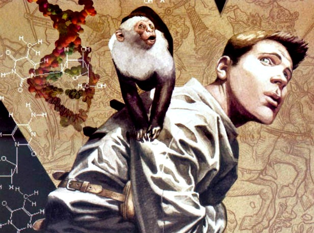 If 'Y: The Last Man' ever becomes live action, can it be better than 'The Walking Dead'?