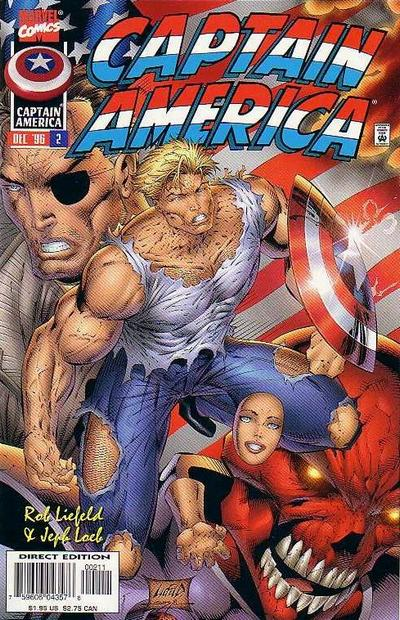 terrible captain america by rob liefeld
