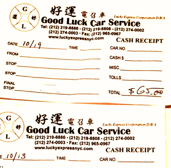 Review: Chinatown's Good Luck (Lucky Express) Car Service