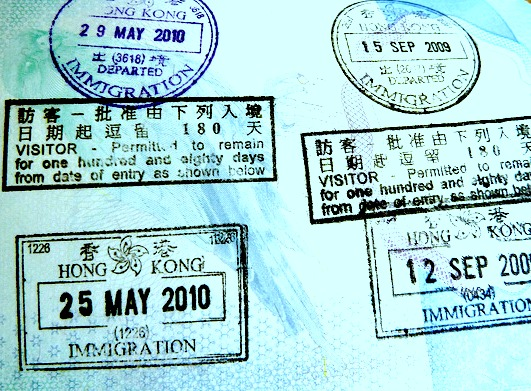 How long does my passport need to be valid to travel to Hong Kong?