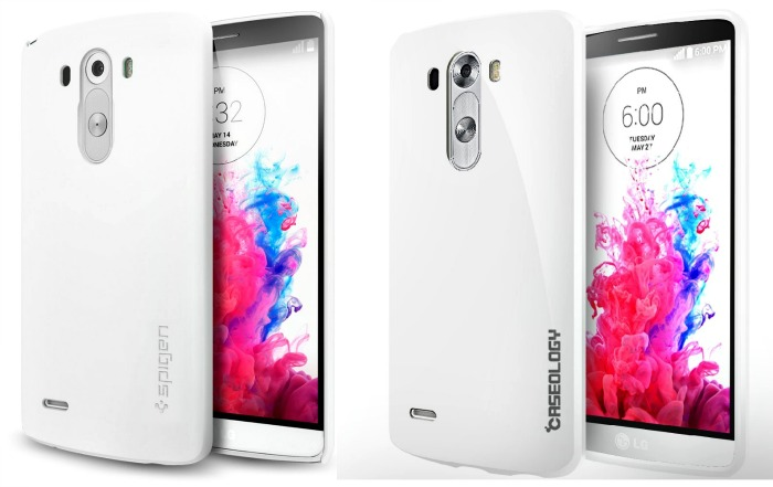 The case for the Spigen G3 phone case over Caseology's G3 cover