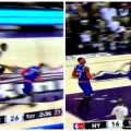 Carmelo Anthony gives up on defense