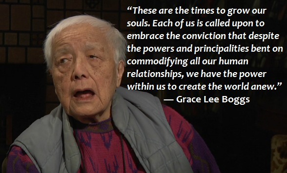 Grace Lee Boggs World Anew