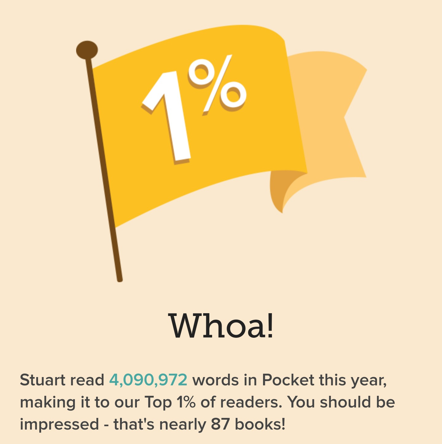 I'm in the 1%