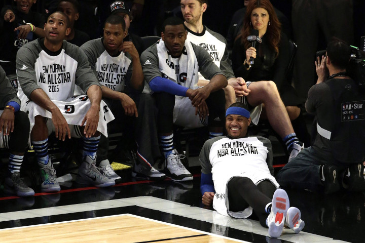 Carmelo plays in All-Star Game, then quits on Knicks (and no one is surprised)