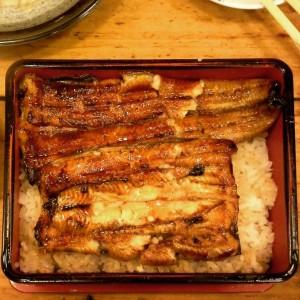 Famous unagi rice from 肥前屋 HIZEN-YA (Fei Qian Wu)
