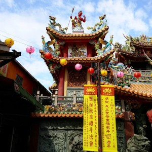 Mazou's Temple in Songshan