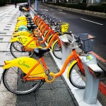 YouBikes were all over Taipei