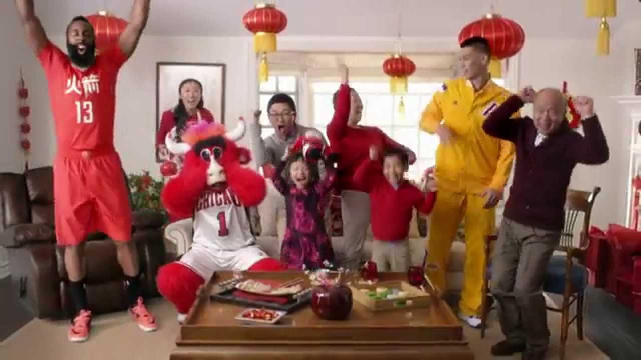 Surprise Door: Here's the NBA's Chinese New Year commercial