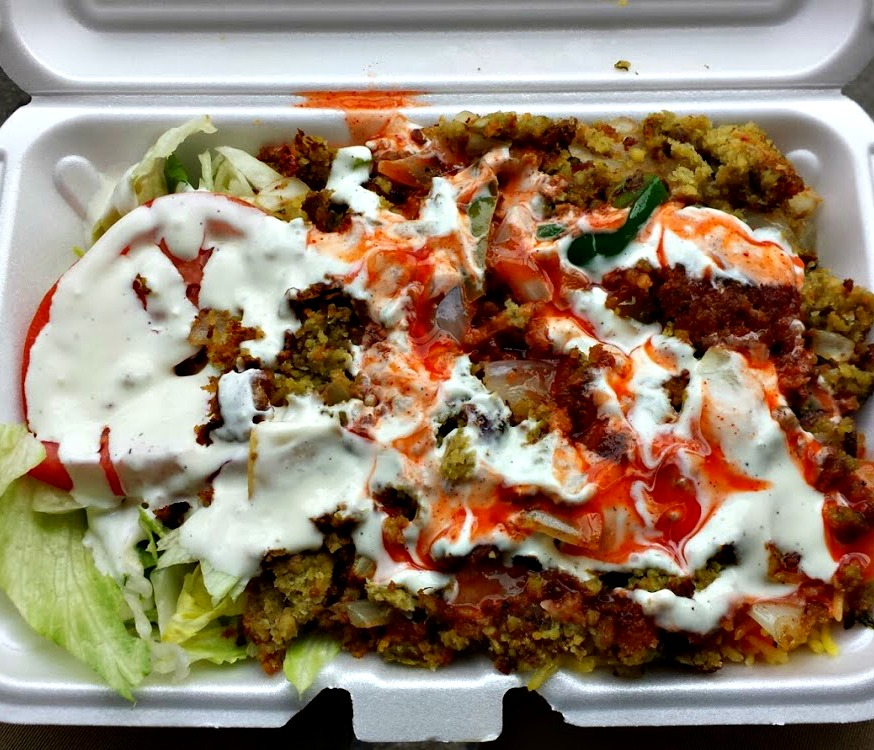 New York's Cheap Eats #2: Halal Cart (Chicken & Rice for $5)
