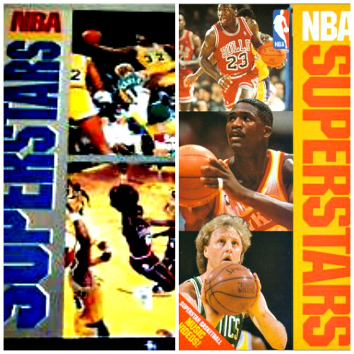 Remember the NBA Superstars video VHS from the 1980's?