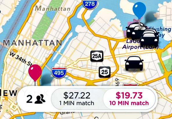Lyft's 10 minute match: Wait a little longer, save more cash with Lyft Line