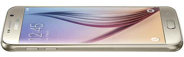 Samsung Galaxy S6 Gold thin