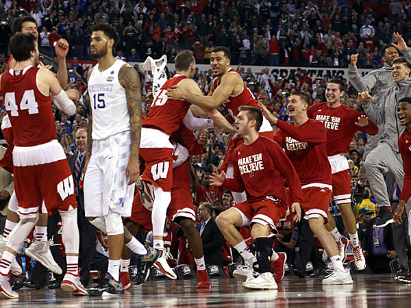 On Kentucky's sportsmanship: You wouldn't have shook hands with Wisconsin either