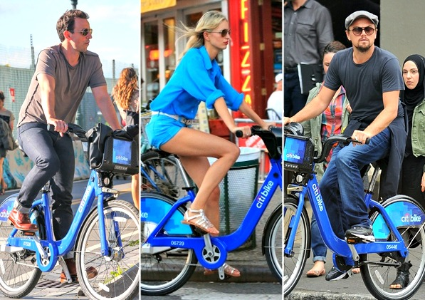 citibike riders celebrities nyc