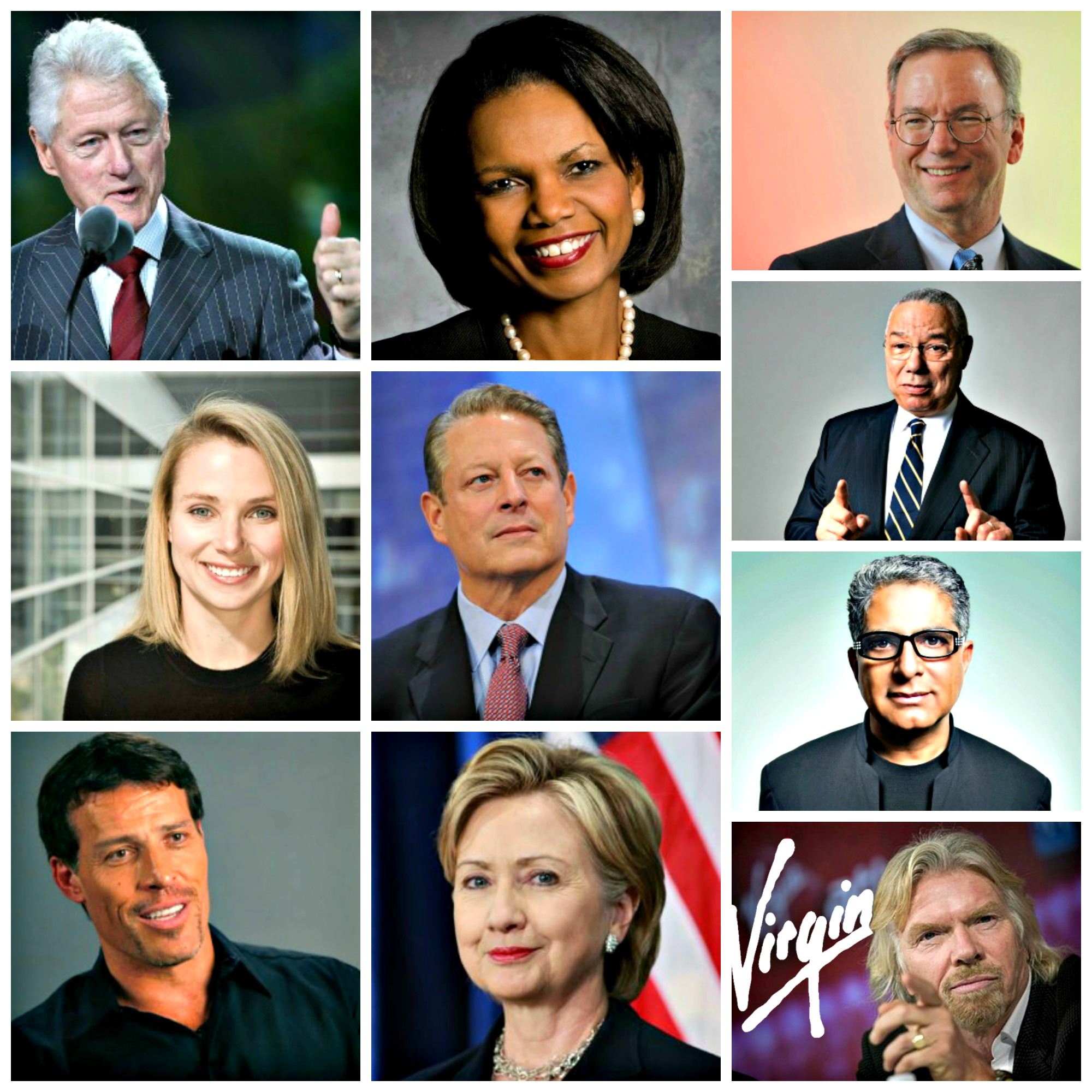 A list of all the Dreamforce keynote speakers from 2003-2015