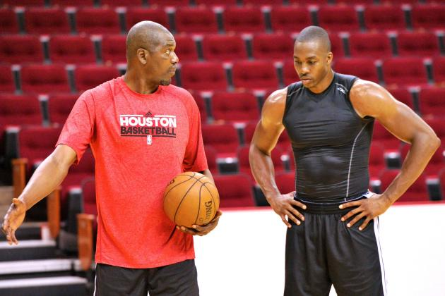 Hakeem tutors dwight howard