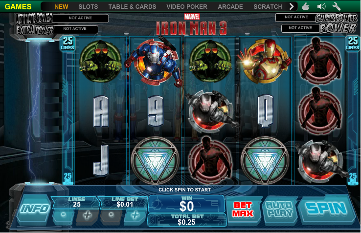 Avengers Slot Machine Games: Iron Man 3, Hulk and Thor reviewed