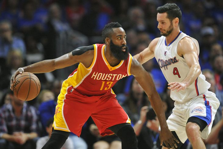How did J.J. Redick defend James Harden so well?