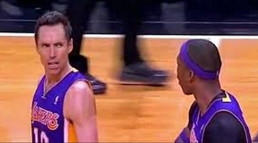 Steve Nash angry at DWight Howard