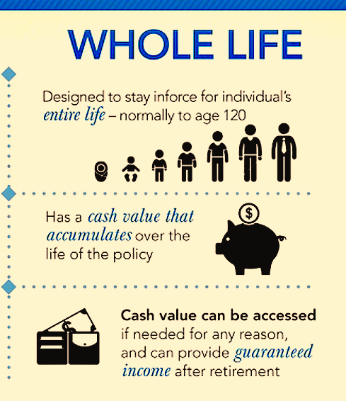 What is whole life insurance and how does it work? (in words you'll understand)