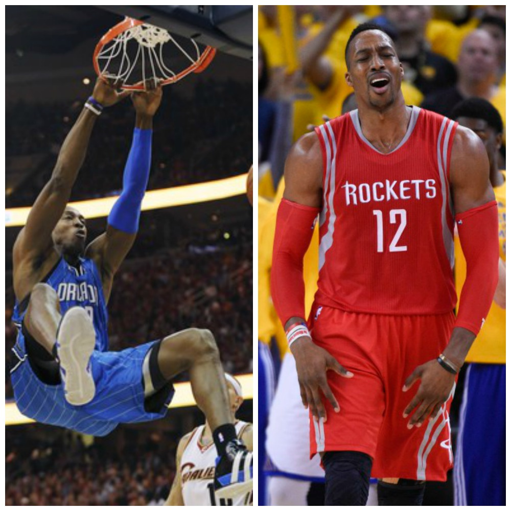 dwight howard orlando magic houston rockets