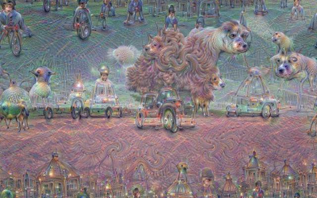 Inceptionism crazy google AI images