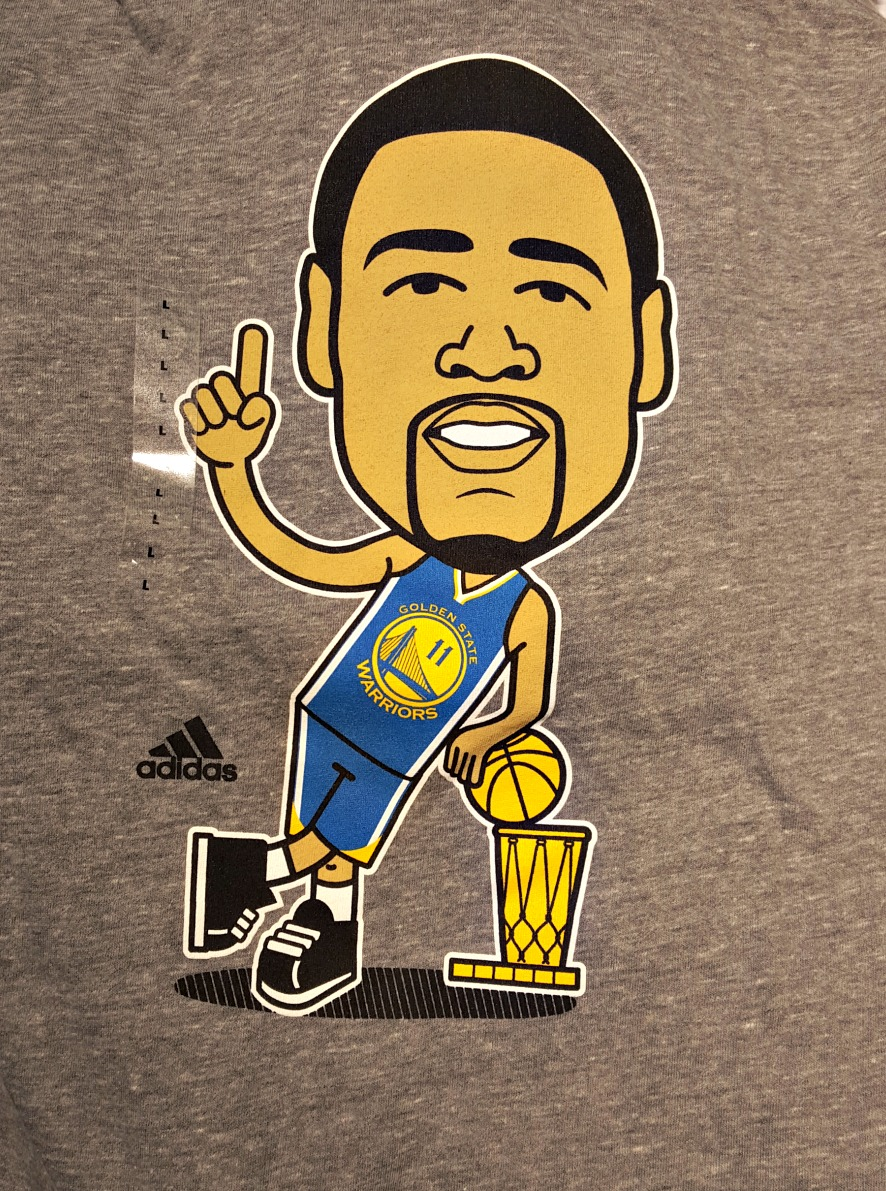 NBA releases 'Geeked Up' Golden State Warriors championship t-shirt