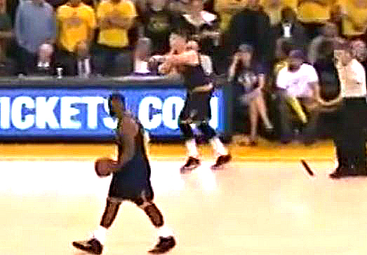 Which travel was worse: Lebron James' stroll or Kendrick Perkins' dancing?