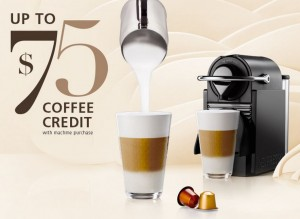 spring promotion on nespresso machines stuarte. Black Bedroom Furniture Sets. Home Design Ideas