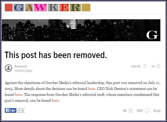 I wish I never read that Gawker article about the Conde Nast executive and gay porn escort