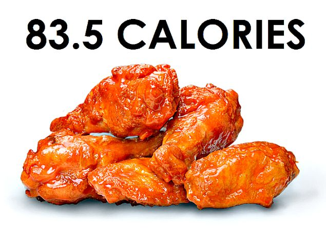 Buffalo Wing Calorie Count: There are 84 calories in each buffalo chicken wing!