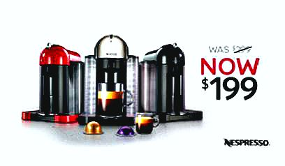 Nespresso puts Vertuoline machines on permanent sale for $199