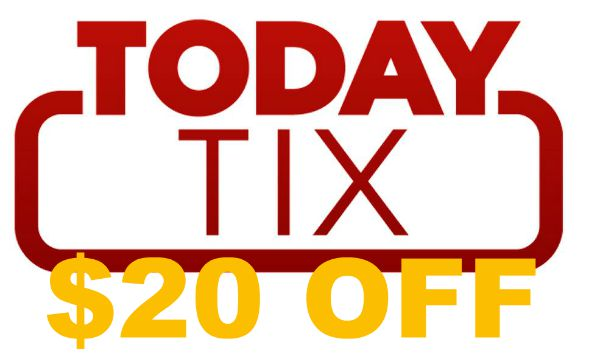 Get a TodayTix discount with the following promo code: BIHLO