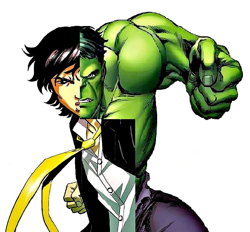 Marvel finally has a major character that's an Asian American male.. and it's the Hulk!